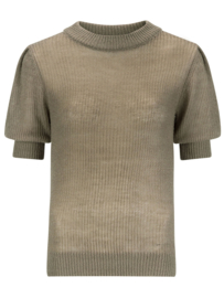 Knitted top krista Army