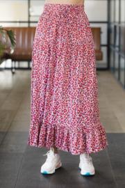 Oscar & Jane leopard maxi skirt