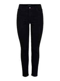 Mid waist skinny black