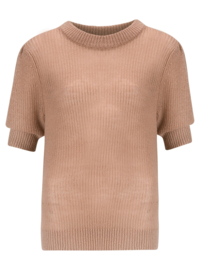 Knitted top soft pink