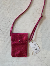 Little bag pink metallic