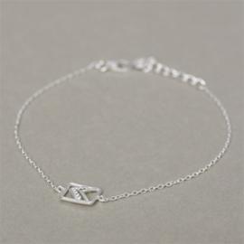 Muja juma armband arrow silver