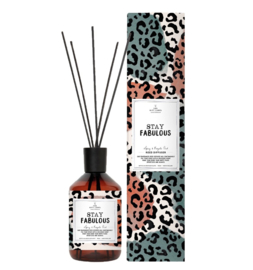 The gift label - geurstokjes - spicy and royal oud - Stay fabulous