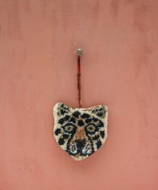 Doing goods loony leopard hanger