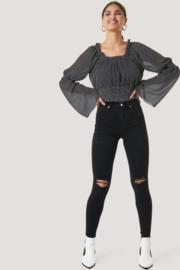 NAKD skinny high waist jeans