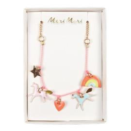 Meri meri unicorn ketting