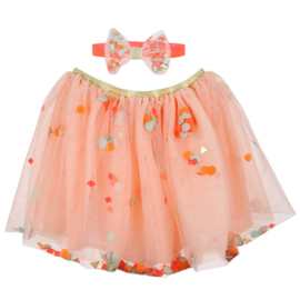 Meri meri confetti skirt + haarband en toverstafje 3+