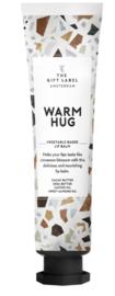 The gift label - lipbalm tube - warm hug