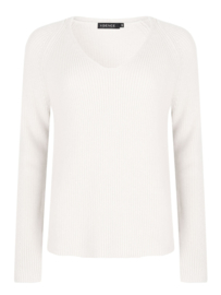 YDENCE knitted sweater Tess white