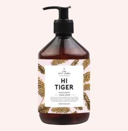 The gift label - Handzeep - Hi tiger