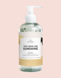 The gift label - handzeep - High summer - You look like sunshine
