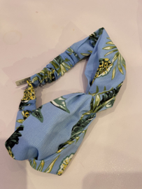 Haarband blue tropical