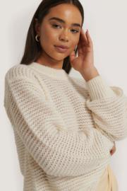NAKD comfi balloon sweater wit