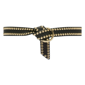 Depeche jeans belt gold