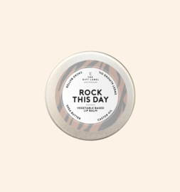 The gift label - Lipbalm - rock this day