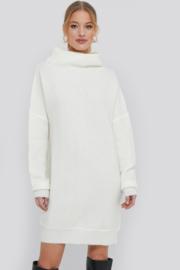 Nakd knit dress off white