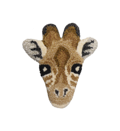 DOING GOODS | GIRAFFE HEAD RUG