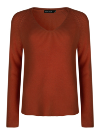 Ydence Knitted sweater Tess rust