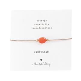A beautiful story - Carnelian