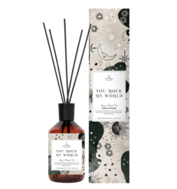 The gift label - geurstokjes - spicy and royal oud - You rock my world