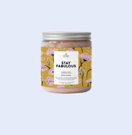 The gift label - Himalaya scrub - Mandarin musk - Stay fabulous