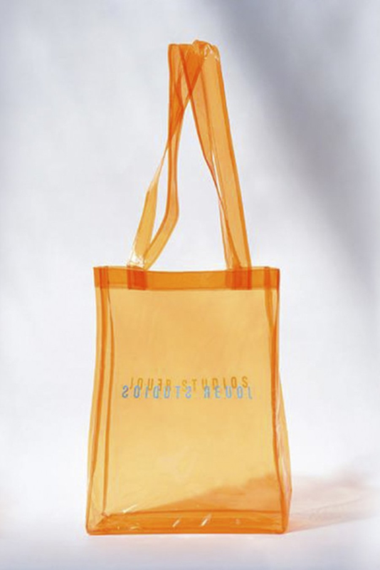 Jouer studio orange bag