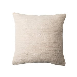 Urban Nature Culture cushion, Bihar sea shore (recycled silk)
