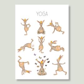 Gein Konijn ' Yoga'