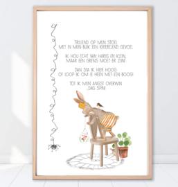 Gein Konijn poster ' Spin'