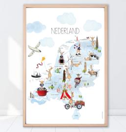 Gein Konijn poster ' Nederland'