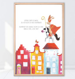 Gein Konijn poster 'Sinterklaas'