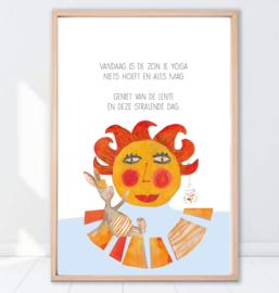 Gein Konijn poster ' Zon'