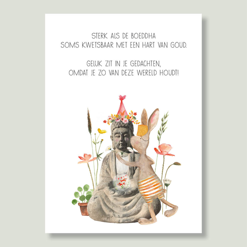 Gein Konijn 'Boeddha'