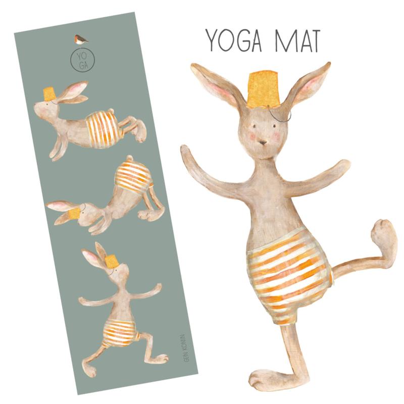 Yogamat Gein Konijn