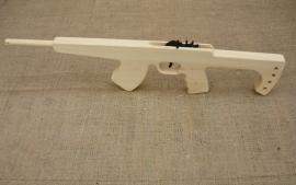 Kalashnikov houten machinegeweer