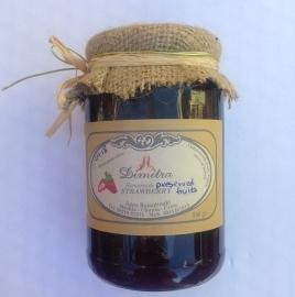 Aardbeien op siroop  500 gram