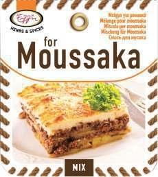 Kruidenmix voor Mousaka / andere verpakking