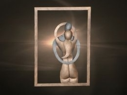 Wanddecoratie man-vrouw