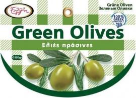 Groene Koroneiki olijven van Kreta  250 gr.