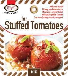 Kruidenmix voor gevulde tomaat
