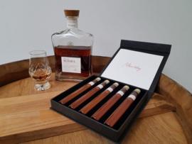 Griekse luxe Gift Box  - Metaxa proeverij - 5 tubes  18+