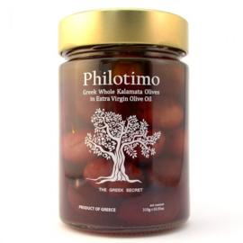 Griekse Kalamata olijven 310 gr.