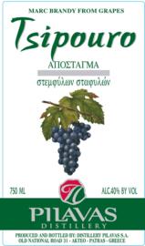Pilavas Tsipouro    700 ml. (  18.+ )