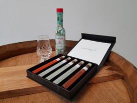 Griekse Luxe Gift box -proeverij dranken- 5 tubes  18+