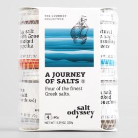 Odyssey set van de 4 beste zeezouten