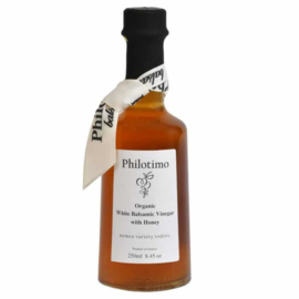 Witte balsamico azijn met honing