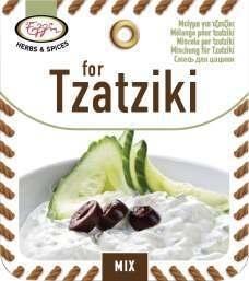 Kruidenmix voor Tzatziki / andere verpakking