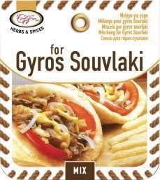 Kruidenmix voor Giros-Souvlaki