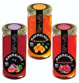 Trio unieke marmelades