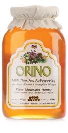 Orino  wilde kruidenhoning  950 gram